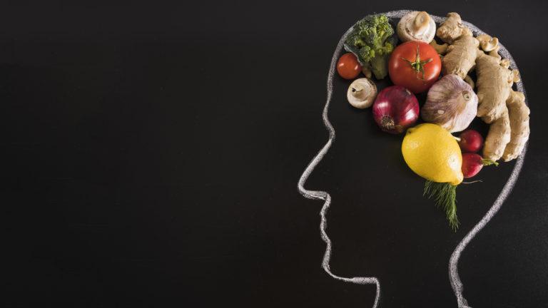 alimentação para um cérebro saudável