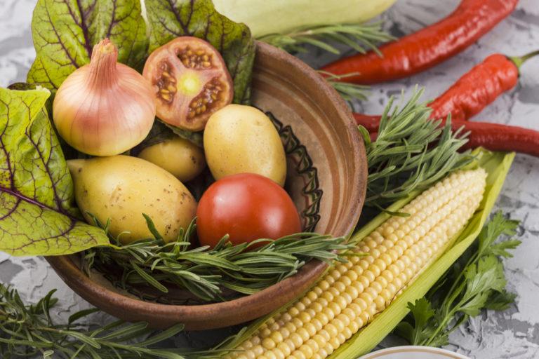 conceito de alimentação saudável